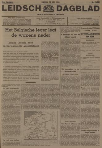 Leidsch Dagblad 1940-05-28