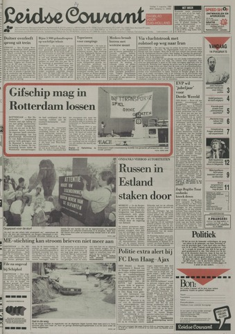 Leidse Courant 1989-08-11