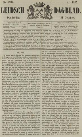 Leidsch Dagblad 1867-10-31