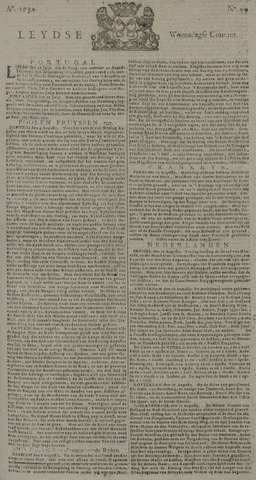 Leydse Courant 1734-08-18