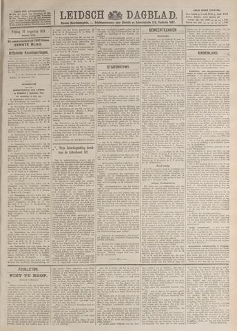 Leidsch Dagblad 1919-08-29