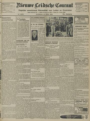 Nieuwe Leidsche Courant 1938-04-23