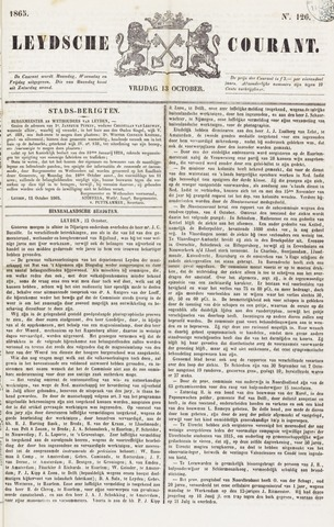 Leydse Courant 1865-10-13