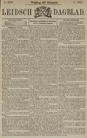 Leidsch Dagblad 1882-01-27