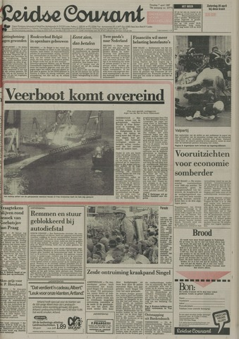 Leidse Courant 1987-04-07
