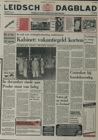 Leidsch Dagblad 1982-11-27
