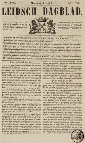 Leidsch Dagblad 1864-04-04
