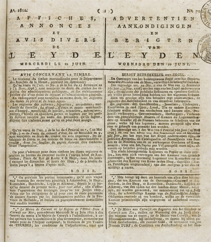 Leydse Courant 1812-06-10