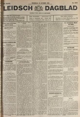 Leidsch Dagblad 1933-10-25