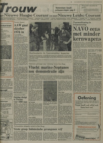 Nieuwe Leidsche Courant 1975-09-18