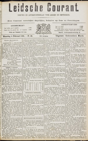 Leydse Courant 1890-02-03