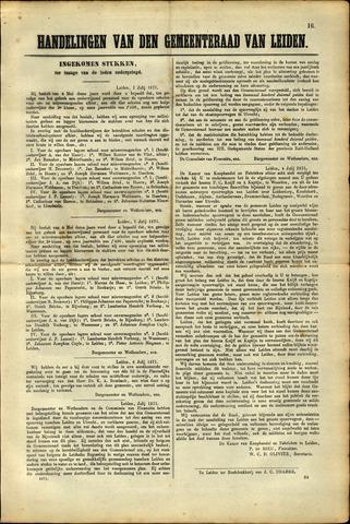 Handelingen van de Raad 1871-07-01
