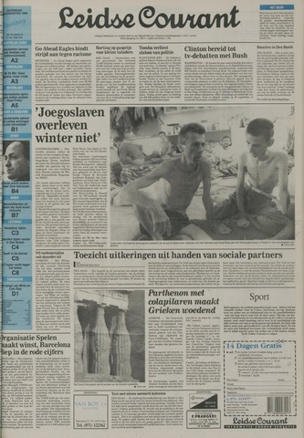 Leidse Courant 1992-08-15