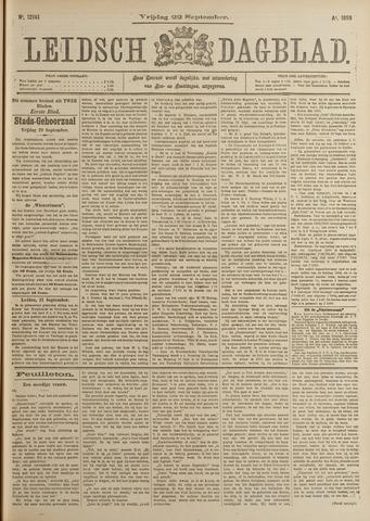 Leidsch Dagblad 1899-09-22