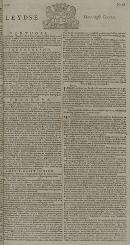 Leydse Courant 1726-02-11