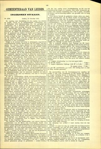 Handelingen van de Raad 1931-10-27