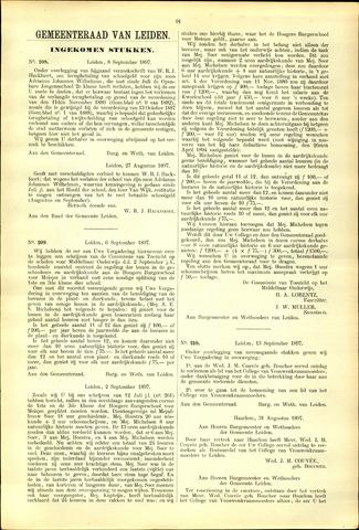 Handelingen van de Raad 1897-09-08