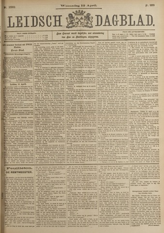 Leidsch Dagblad 1899-04-12