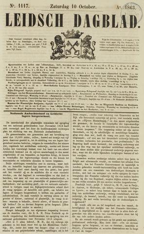 Leidsch Dagblad 1863-10-10