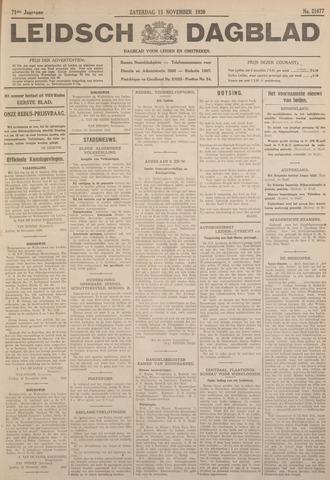 Leidsch Dagblad 1930-11-15