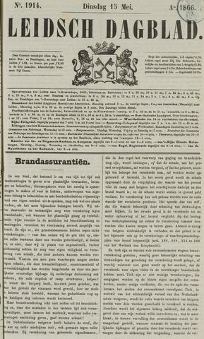Leidsch Dagblad 1866-05-15