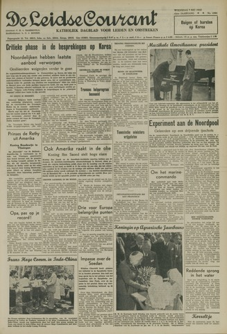 Leidse Courant 1952-05-07