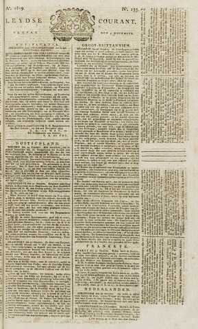 Leydse Courant 1819-11-05