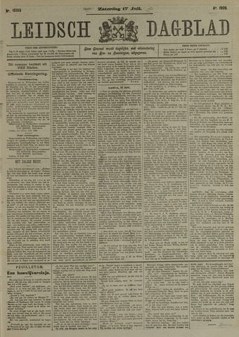 Leidsch Dagblad 1909-07-17