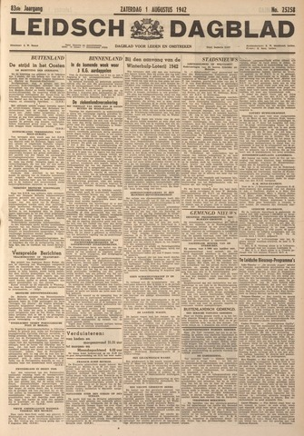 Leidsch Dagblad 1942-08-01