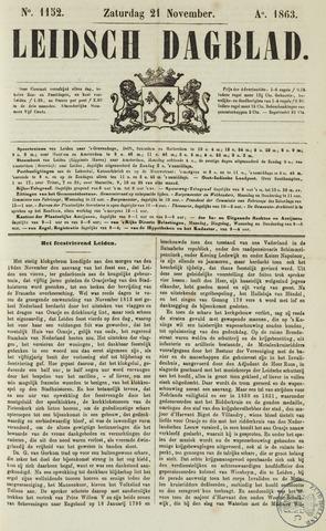 Leidsch Dagblad 1863-11-21
