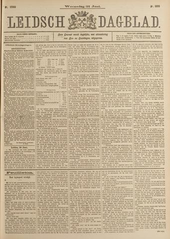 Leidsch Dagblad 1899-06-21