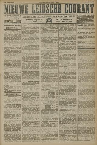 Nieuwe Leidsche Courant 1927-03-10