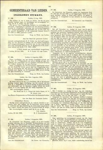 Handelingen van de Raad 1905-08-02