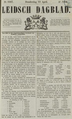 Leidsch Dagblad 1866-04-12