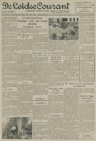 Leidse Courant 1949-02-02