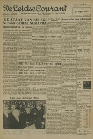 Leidse Courant 1957