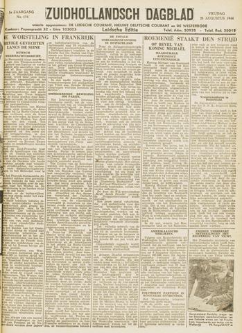 Zuidhollandsch Dagblad 1944-08-25