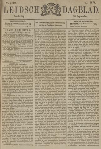 Leidsch Dagblad 1878-09-26