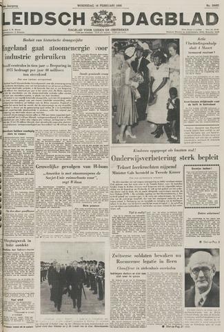 Leidsch Dagblad 1955-02-16