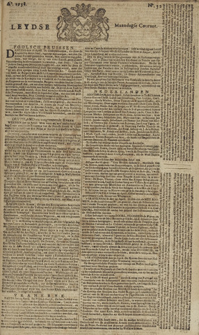 Leydse Courant 1758-05-01