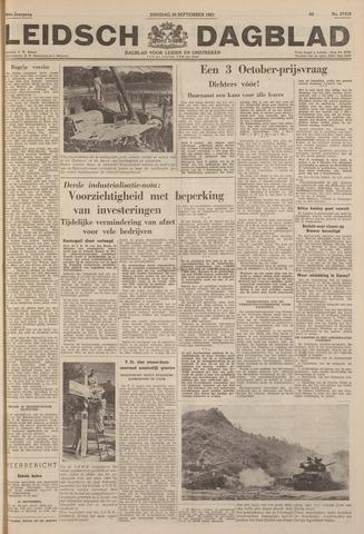 Leidsch Dagblad 1951-09-25