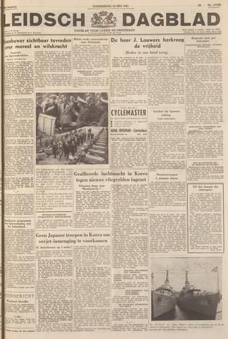Leidsch Dagblad 1951-05-10