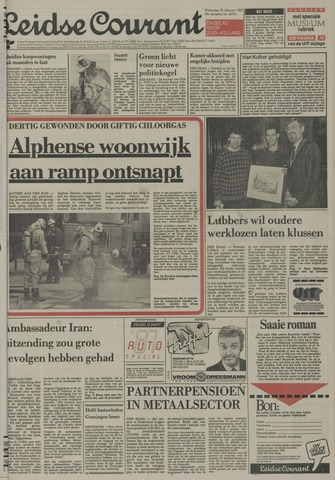Leidse Courant 1987-02-25
