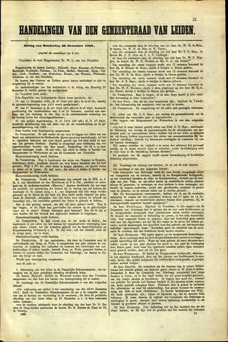 Handelingen van de Raad 1869-12-30