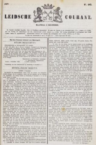 Leydse Courant 1877-12-03