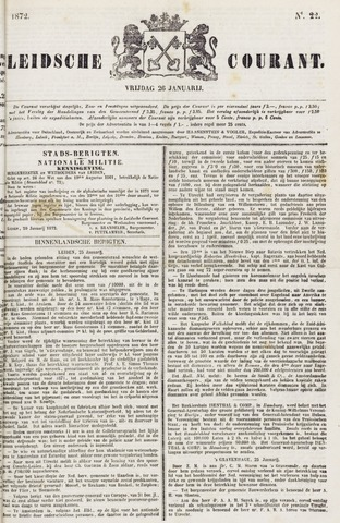 Leydse Courant 1872-01-26
