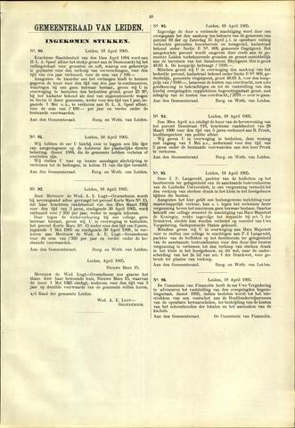 Handelingen van de Raad 1905-04-18