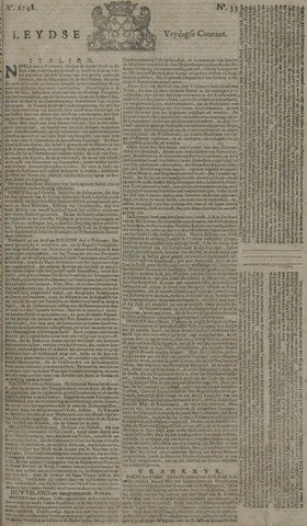 Leydse Courant 1748-03-15