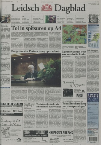 Leidsch Dagblad 1999-12-15