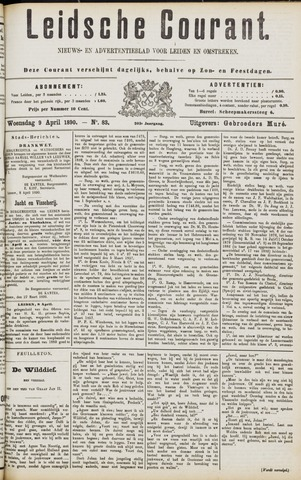 Leydse Courant 1890-04-09
